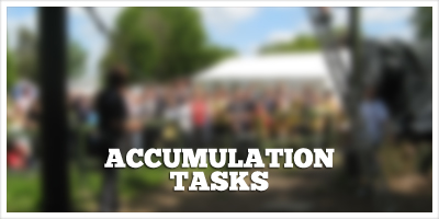 Accumulation Tasks